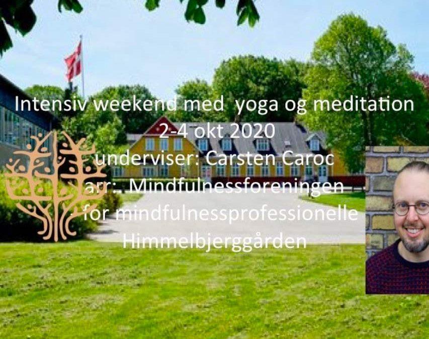Intensiv weekend med yoga og meditation 2020
